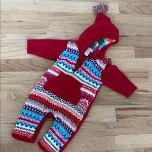 GAP baby sweater onesie fair isle